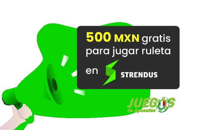 ruleta bono 500