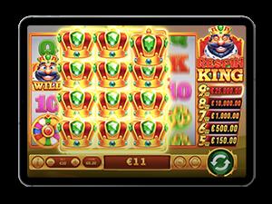 respin king jackpot