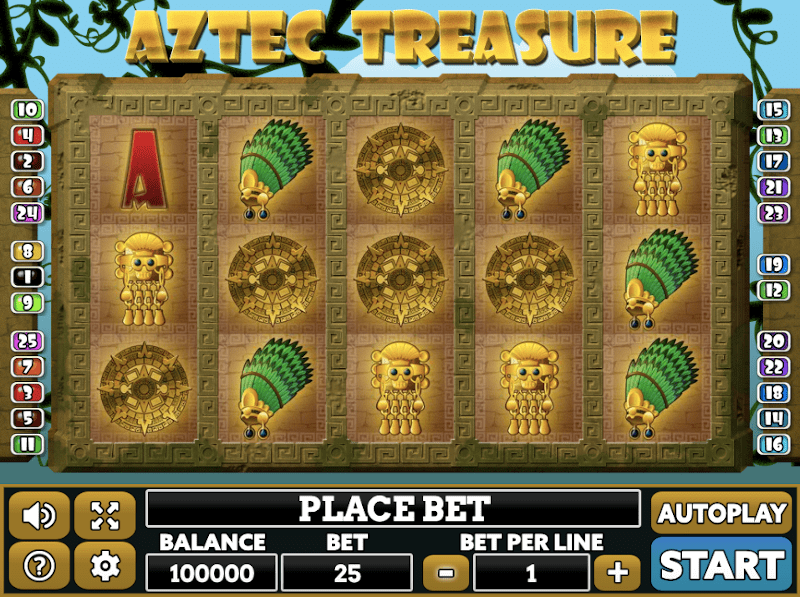 aztec treasure gratis