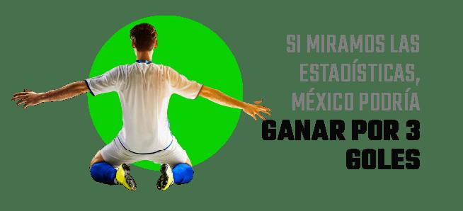 Sudáfrica vs. México Momios